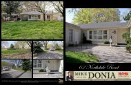 62 Northdale Road - Mike Donia