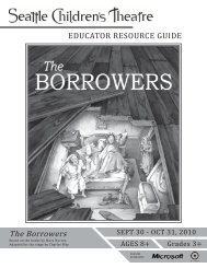 The Borrowers - Seattle Children's Theatre