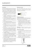 EUROSPOT - ADB Lighting Technologies - Seite 2