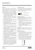 EUROSPOT - ADB Lighting Technologies - Seite 4