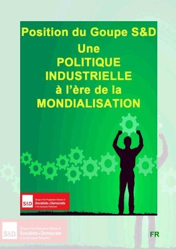 Une politique Industrielle à - Socialists & Democrats