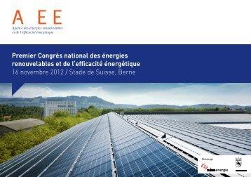 Premier Congrès national des énergies renouvelables et de l ...