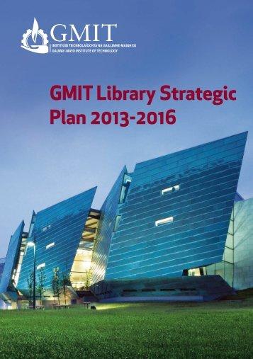 gmitlibrarystrategicplan2013-2016