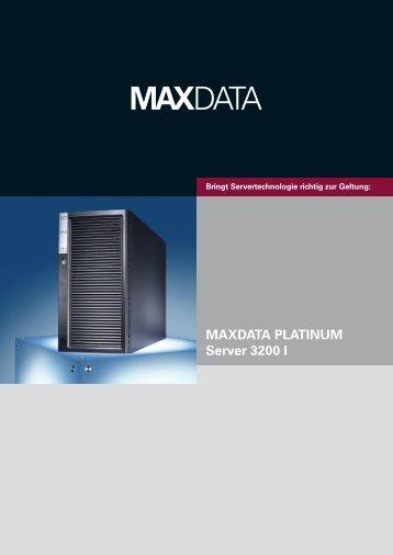 MAXDATA PLATINUM Server 3200 I