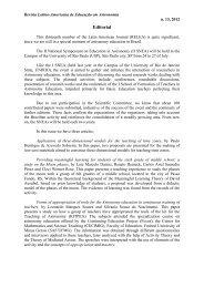 Editorial - Revista Latino-Americana de Educação em Astronomia