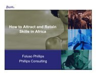 How to Attract and Retain Skills in Africa - FindaJobinAfrica
