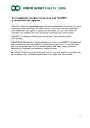 Vejledning til Bedriftsbegrebet i Dyreregistrering - DLBR IT