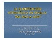 PLAN ESTRATÉGICO SEVILLA 2010