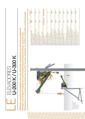 ELEVAD O R ES U -200 K / U -300 K
