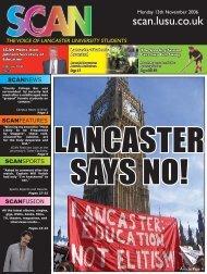Lancaster University students - Scan - Lusu
