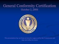 General Conformity Certification - Consumer Product Safety ...