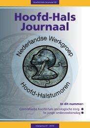 Hoofd-Hals Journaal 43 november 2010 - NWHHT