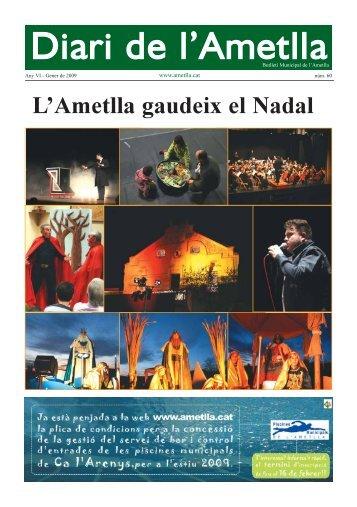 Diari Gener 2009 - Ajuntament de L'Ametlla del Vallès