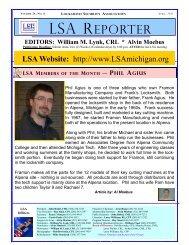 April 2011 Newsletter - Locksmith Security Association of Michigan ...