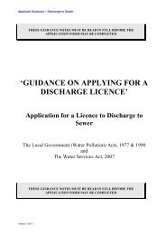 'GUIDANCE ON APPLYING FOR A DISCHARGE ... - Wicklow.ie