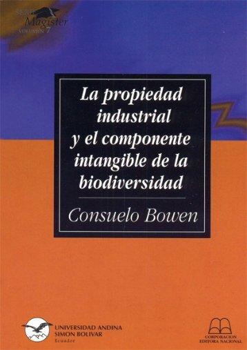 Consuelo Bowen final - Repositorio UASB-Digital - Universidad ...