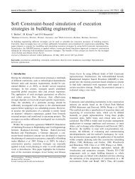 Soft Constraint-based simulation of execution strategies in ... - Mefisto