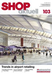 Trends in airport retailing - Umdasch - Shop Concept