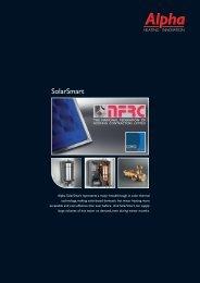 Alpha SolarSmart system - Artizan Heating