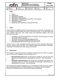 Werksnorm: Kennzeichnung von Bauteilen, Baugruppen und ... - Rofin