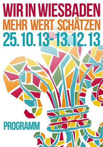 MEHR wert schätzen - WIR in Wiesbaden