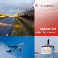 Trafikverket broschyr