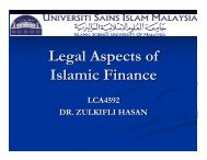 Shariah Governance Framework, IFSB and AAOIFI Standards