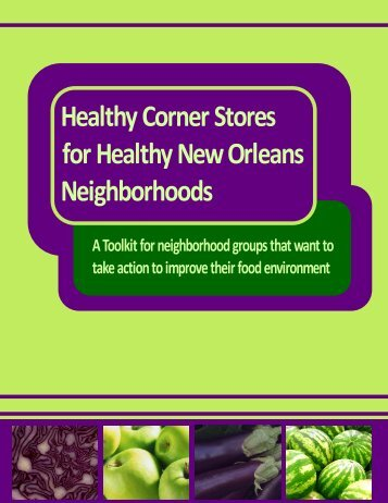 Healthy Corner Stores for Healthy New Orleans Neighborhoods | 1
