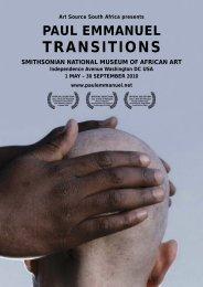 TRANSITIONS Smith Press Release - Paul Emmanuel