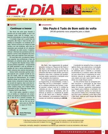Edição N° 19 - Visite São Paulo