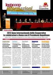 2012 Anno Internazionale delle Cooperative Le celebrazioni ... - Adapt