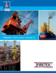 FIRETEX® M90 SERIES PROJECTS - Protective Coatings ...