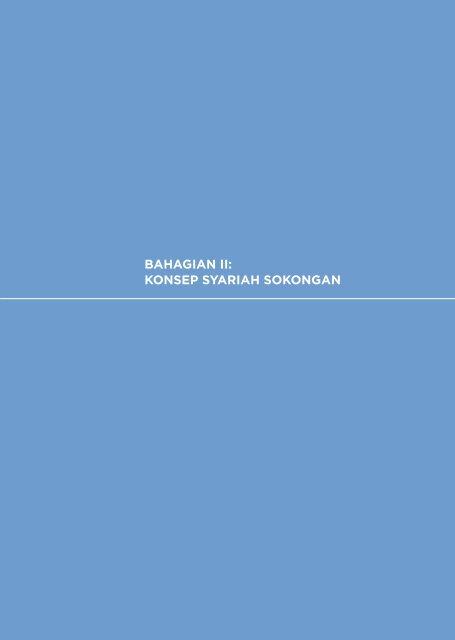 bahagian ii: konsep syariah sokongan - Bank Negara Malaysia