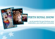 Why invest in the Show? - Perth Royal Show
