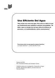 Uso eficiente del agua - Cap-Net