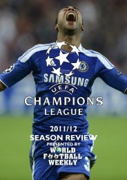 to view the Champions League Review - WORLD FOOTBALL ...