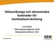 Lars Drakes presentation