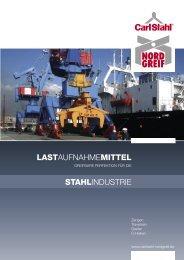 Katalog für die Stahlindustrie als PDF-Datei herunterladen...