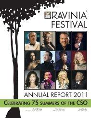 ANNUAL REPORT 2011 - Ravinia Festival