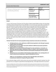 Concurrent and Discharge Review - Community Care Behavioral ...
