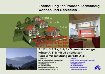 Dokumentation als PDF zum download - Heidi Bühler Immobilien ...