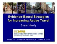 Evidence-Based Strategies for Increasing Active Travel