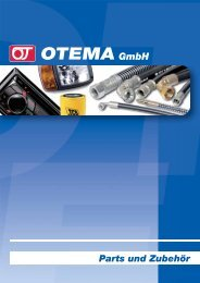 Parts und Zubehör - OTEMA GmbH