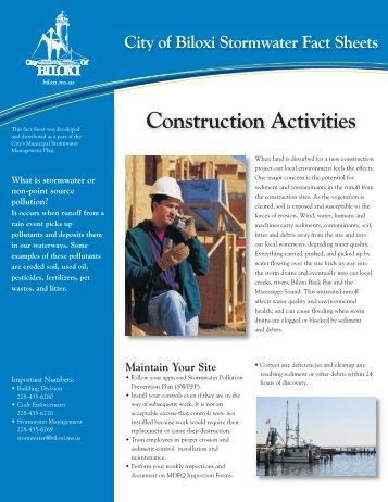 Construction:Layout 1 - City of Biloxi