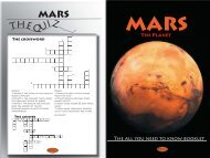 First draft Mars Booklet