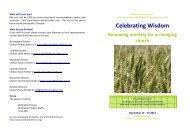 Celebrating Wisdom - Diocese of Gloucester