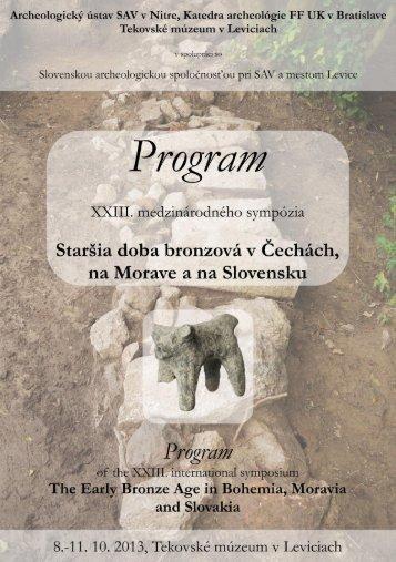 Program sympózia (PDF)