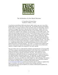 The Architecture of a New Racial Discourse - Frameworks Institute