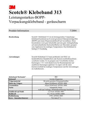 Scotch® Klebeband 313 - BORN GmbH