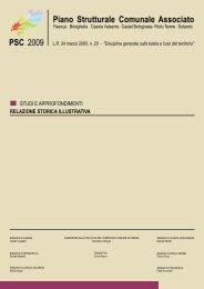 Relazione Storica Illustrativa - Comune di Faenza